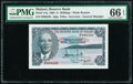 World Currency, Malawi Reserve Bank of Malawi 5 Shillings 1964 Pick 1Aa PMG Gem Uncirculated 66 EPQ.. ...