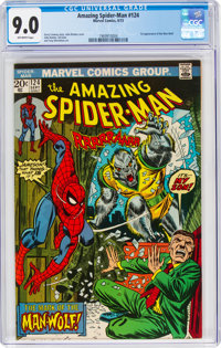 The Amazing Spider-Man #124 (Marvel, 1973) CGC VF/NM 9.0 Off-white pages