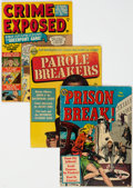 Golden Age (1938-1955):Crime, Golden Age Crime Comics Group of 4 (Various Publishers, 1950s) Condition: GD+.... (Total: 4 Comic Books)