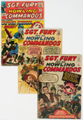 Silver Age (1956-1969):War, Sgt. Fury and His Howling Commandos Group of 38 (Marvel, 1963-70) Condition: Average VG-.... (Total: 38 Comic Books)