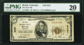 Brush, CO - $5 1929 Ty. 1 The First National Bank Ch. # 6437 PMG Very Fine 20