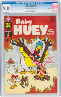 Baby Huey, the Baby Giant #48 File Copy (Harvey, 1962) CGC NM/MT 9.8 Off-white to white pages