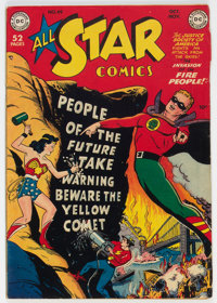 All Star Comics #49 (DC, 1949) Condition: FN-
