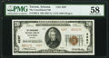 Tucson, AZ - $20 1929 Ty. 2 The Consolidated National Bank Ch. # 4287 PMG Choice About Unc 58.<