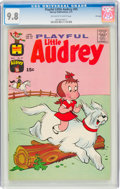 Bronze Age (1970-1979):Humor, Playful Little Audrey #95 File Copy (Harvey, 1971) CGC NM/MT 9.8 Off-white to white pages....