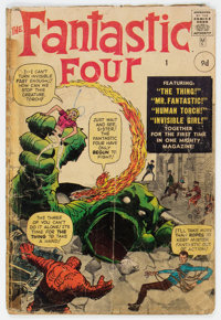 Fantastic Four #1 UK Edition (Marvel, 1961) Condition: Incomplete