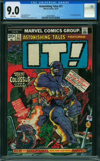 Astonishing Tales #21 (Marvel, 1973) CGC VF/NM 9.0 White pages