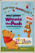 "Movie Posters:Animation, Winnie the Pooh and the Blustery Day (Buena Vista, 1969). Flat Folded, Very Fine-. One Sheet (27"" X 41""). Animation.. ..."