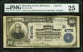 Blooming Prairie, MN - $10 1902 Plain Back Fr. 624 The First National Bank Ch. # (M)6775 PMG Very Fine 25