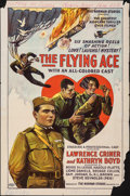 Movie Posters:Black Films, The Flying Ace (Norman, 1926). Folded, Very Good. ...