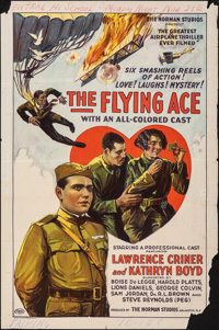 """The Flying Ace (Norman, 1926). Folded, Very Good. One Sheet (27"""" X 41""""). Black Films"""