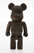 Collectible, KAWS X BE@RBRICK. NexusVII 400%, 2007. Wood. 10-3/4 x 5 x 3-1/4 inches (27.3 x 12.7 x 8.3 cm). Edition of 400. Incised o...