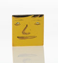 Sculpture, OSGEMEOS (b. 1974). Untitled, early 21st century. Mixed media on wood block. 2 x 2 x 2 inches (5.1 x 5.1 x 5.1 cm). ...