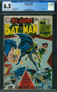 Batman #208 (DC, 1969) CGC FN+ 6.5 Off-white to white pages
