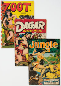 Golden Age Jungle Adventure Comics Group of 4 (Various Publishers, 1940s).... (Total: 4)