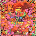 Miscellaneous Collectibles:General, 1967 Disraeli Gears by Cream Multi-Signed Album Cover....