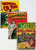 Golden Age (1938-1955):Horror, Golden Age Horror Comics Group of 5 (Various Publishers, 1950s).... (Total: 5 Comic Books)