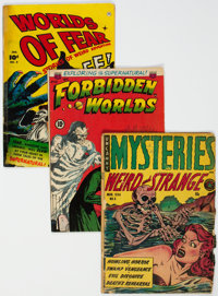 Golden Age Horror Comics Group of 5 (Various Publishers, 1950s).... (Total: 5 Comic Books)