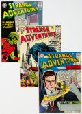 Silver Age (1956-1969):Science Fiction, Strange Adventures Group of 19 (DC, 1957-65) Condition: Average FN/VF.... (Total: 19 )