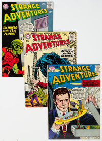 Strange Adventures Group of 19 (DC, 1957-65) Condition: Average FN/VF.... (Total: 19)
