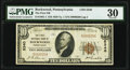 National Bank Notes:Pennsylvania, Rockwood, PA - $10 1929 Ty. 1 The First National Bank Ch. # 5340 PMG Very Fine 30.. ...