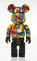 Collectible, BE@RBRICK X BAPE. Camo Shark, 2019. Painted cast resin. 10-3/4 x 5 x 3-1/2 inches (27.3 x 12.7 x 8.9 cm). Stamped to the...