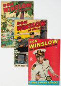 Golden Age (1938-1955):War, Don Winslow of the Navy Group of 10 (Fawcett Publications, 1944-51) Condition: Average VG+.... (Total: 10 Comic Books)
