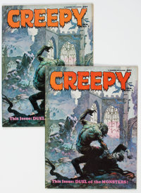 Creepy #7 Group of 2 (Warren, 1966) Condition: Average VF.... (Total: 2 Comic Books)