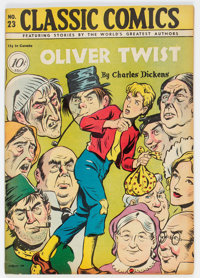 Classic Comics #23 Oliver Twist - First Edition (Gilberton, 1945) Condition: FN+