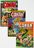Bronze Age (1970-1979):Adventure, Conan the Barbarian Group of 5 (Marvel, 1970-72) Condition: Average VF/NM.... (Total: 5 Comic Books)