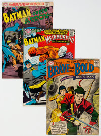 The Brave and the Bold Group of 6 (DC, 1957-74).... (Total: 6)