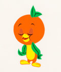 Animation Art:Production Cel, Orange Bird Production Cel (Walt Disney/Florida Citrus Commission, c. 1970). ...