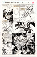 Original Comic Art:Panel Pages, Michael Bair NFL Pro Action Magazine Uncanny X-men #4 Unpublished Story Page 9 Original Art (Marvel, 1994)....