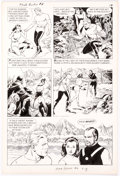 Original Comic Art:Panel Pages, Reed Crandall Flash Gordon #6 Story Page 3 Original Art (King Features, 1967)....