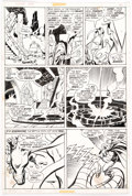 Original Comic Art:Panel Pages, John Buscema and Vince Colletta Thor #198 Story Page 5 Original Art (Marvel, 1972)....
