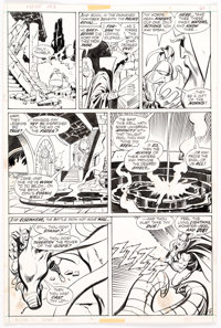 John Buscema and Vince Colletta Thor #198 Story Page 5 Original Art (Marvel, 1972)