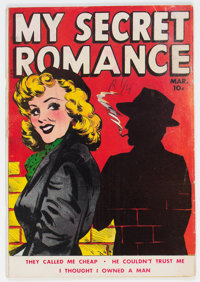 My Secret Romance #2 (Fox Features Syndicate, 1950) Condition: VG-