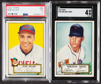 1952 Topps Baseball Low to Mid Series Collection (287)