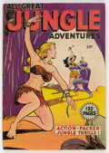 Golden Age (1938-1955):Adventure, Fox Giants All Great Jungle Adventures #nn (Fox Features Syndicate, 1949) Condition: Apparent VG....