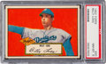 Baseball Cards:Singles (1950-1959), 1952 Topps Billy Loes #20 PSA NM-MT 8 - Only Four Higher. ...