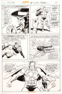 Curt Swan and Murphy Anderson Superman #249 Story Page 15 Original Art (DC, 1972)