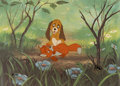 Animation Art:Limited Edition Cel, The Fox and the Hound Tod and Copper...