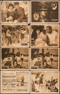 "Movie Posters:Black Films, Regeneration (Norman, 1923). Very Good/Fine. Title Lobby Card, Lobby Cards (7) (11"" X 14""), & Uncut Pressbook (14"" X 22""). B... (Total: 9 Items)"