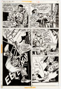 Original Comic Art:Panel Pages, George Tuska and Billy Graham Hero for Hire #3 Story Page 12 Original Art (Marvel, 1972)....