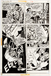 George Tuska and Billy Graham Hero for Hire #3 Story Page 12 Original Art (Marvel, 1972)