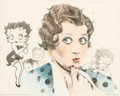 Memorabilia:Print, Robert Gentry - Mae Questel as Betty Boop Limited edition Lithograph #26/300 (King Features, 1980's). ...