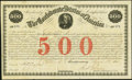 Confederate Notes:Group Lots, Ball 15 Cr. 3A $500 1861 Bond Fine.. ...