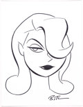 Original Comic Art:Illustrations, Bruce Timm - Poison Ivy Specialty Illustration Original Art (undated)....