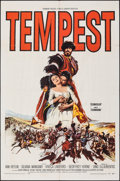Movie Posters:Foreign, Tempest (Paramount, 1959). Folded, Very Fine-. One...