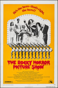 """The Rocky Horror Picture Show (20th Century Fox, 1975). Folded, Very Fine. One Sheet (27"""" X 41"""") Style B. Rock..."""